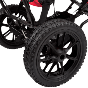 Delta Beachweels is double tires too get more/better traction if you are out in a rough terrain, such as mountains, beach, forrest etc.