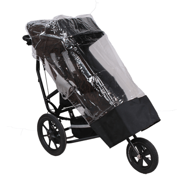 Delta Push Chair Raincover will keep the child safe and dry from rain, hail and snow