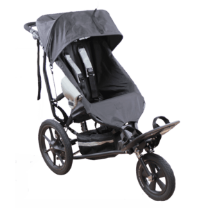 Delta Jogger with standard canopy, to protect your child from the sun