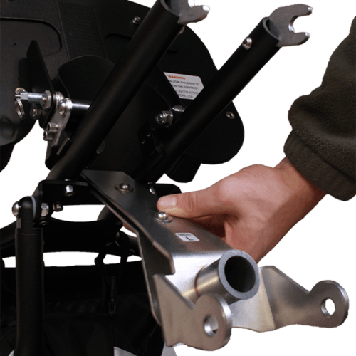 This makes it possible to attach the Delta sitter and Jogger terrain to a bicycle