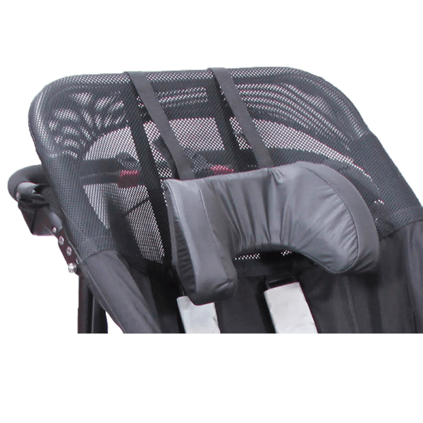 ThisDelta Jogger Headrest is good to keep the childs head in a up right position, without it keeping falling from left to right
