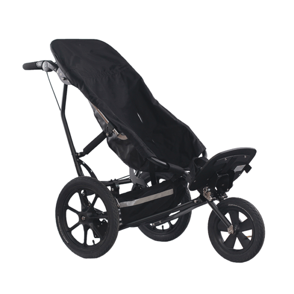 The Delta Sitter can hold any sitter depending on the size of the push chair, and is great for user whom in need of a little more body support