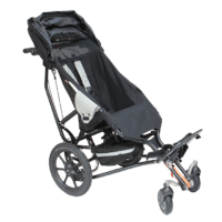 Delta swivel front wheels attached for easy maneuvreablity on flat ground