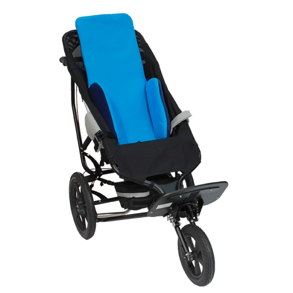 Vakuform high back with laterals in a Delta Jogger