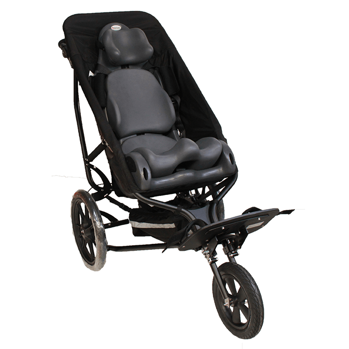 Delta Sitter fitted with out MPS for easy acces to outdoor activities with your child