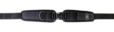 Hip 2 point harness with side release and a single adjustable strapHip 2 point harness with side release and a single adjustable strap