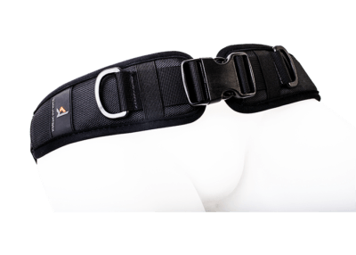 2 point harness with side release and single adjustment strap