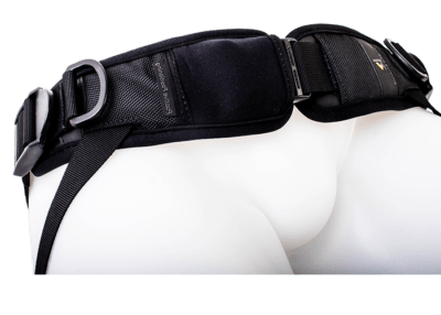 4 point hip harness side release with double adjustment straps