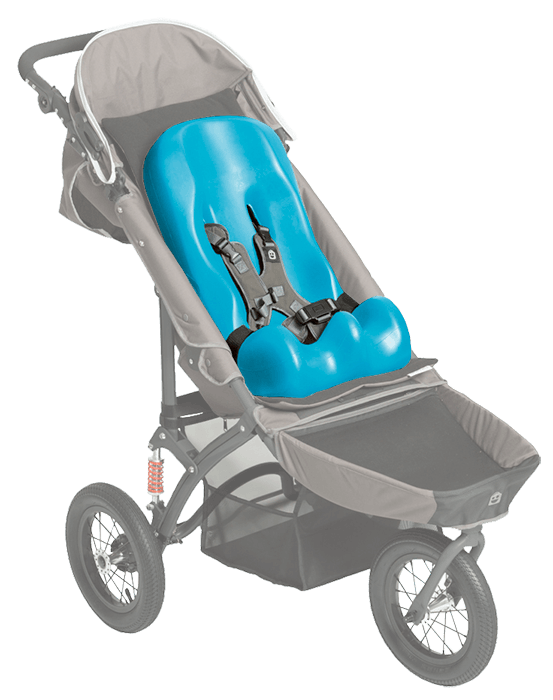 The sitter size 1 to 2 is able to be put into our special tomto push chairs, for a more corfortable trip for your child while enjoying the outdoor.