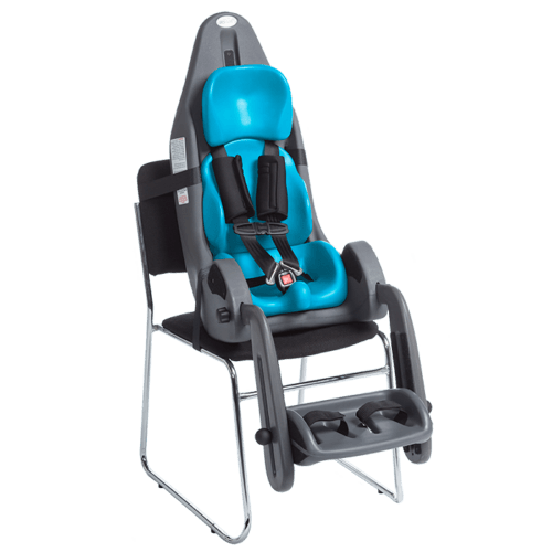 The MPS only can be attached onto an regular chair like the sitter seat, in some countries this is also a authorised car seat in some contries