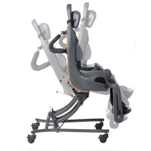The MPS Hi-Low makes it possible for the user to be tilted up to 30 degrees backwards and 10 degrees forwards and still be easy to maneuvre around inside