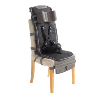 Out & About is lightweight and attachable to regular chair at family or friend gatherings, barbecues and camping etc.