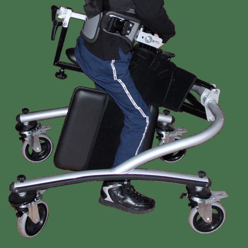 Walking Frame padded leg seperator board, to prevent stumbling