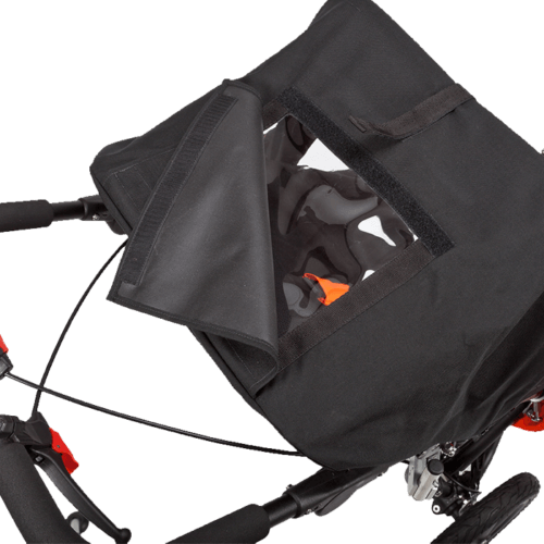 The Delta Jogger Canopy has a parent window, which provides you to look at your kid and oppperste