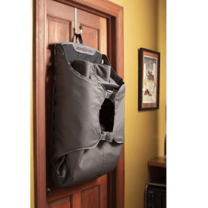The recliner can be folded and hung up for light and easy storage if not in use