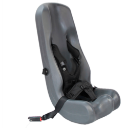 Our Booster Car Seat is made with ISO fix specifically to be mounted in cars with a three point harness