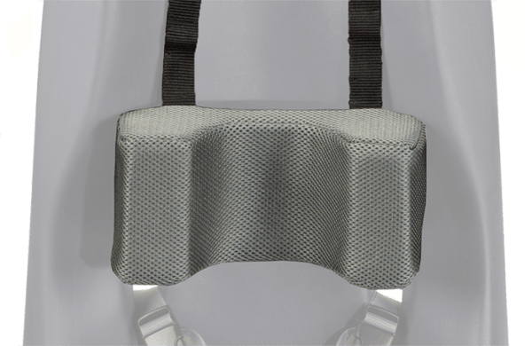 The Sitter Headrest is a soft cushions for the head and is used to keep the childrens head in an upright position without moving around all the time