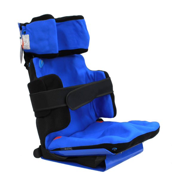 The Stabilo Car Seat is a moldable body cushion, which will make the perfect fit for the user body shape, and it is approved to use in europe.