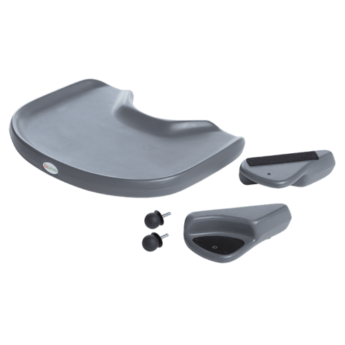 The MPS tray can be used for the MPS shell soyour child have theirown dinner table while they sit in their comfortable soft touch cuhusions