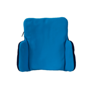 A vakuform back cushions with lareral supports