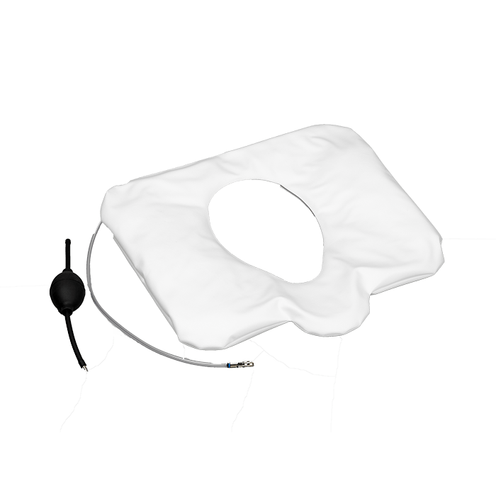 Vakusan toilet seat with suction cup to attach to the toilet seat without slipping