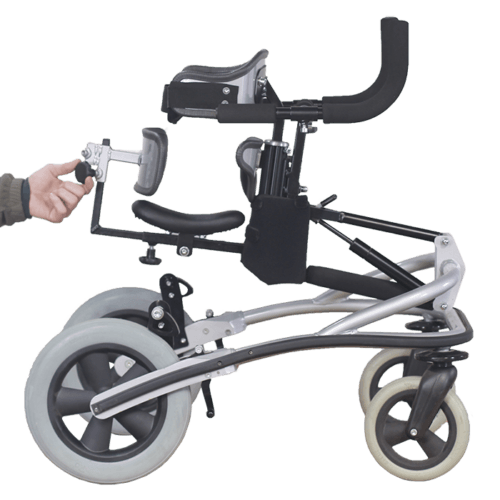 Janneke Walking Frame height adjustable up and down