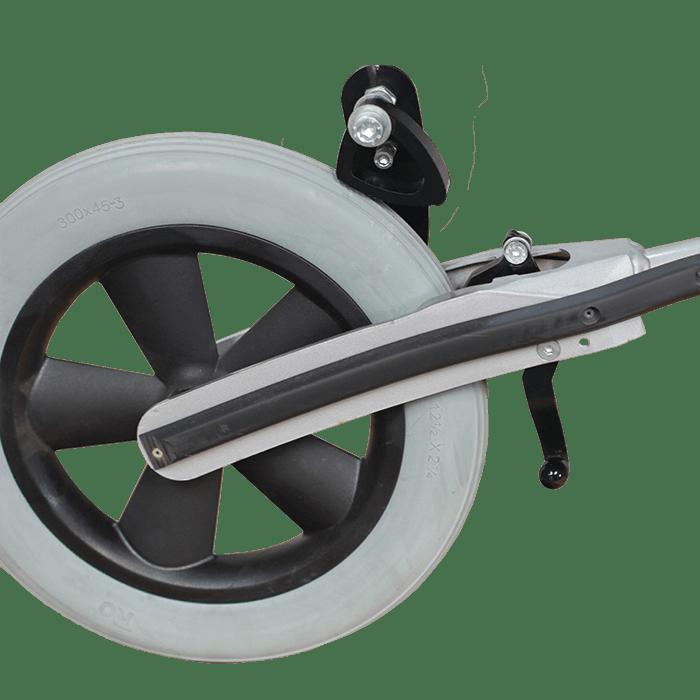 Walking Frame FT wheel tailing brake and verse brake