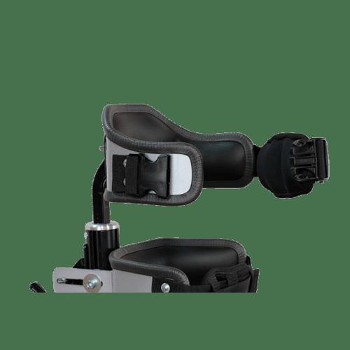 Walking Frame width adjustable chest support with easy open/close neopren belt