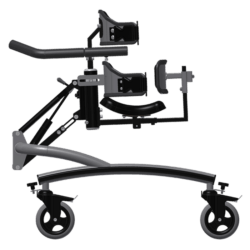 Jasmijn walking frame with full body surrounded support, anterior side view